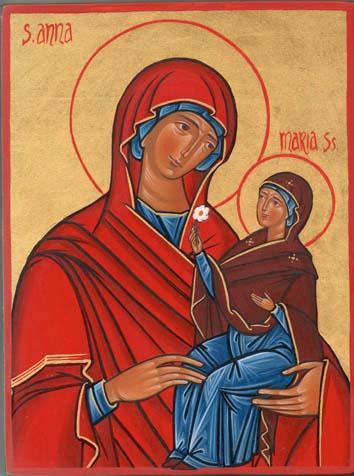 Anna, santa madre di Maria